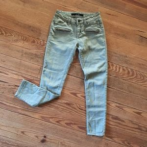 Girls green Joe's jeans jeggings